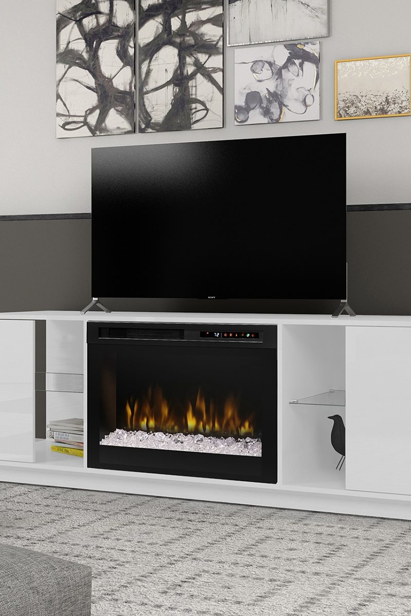 Miraculous Electric Fireplaces Provide Warmth And Ambiance Home Interior And Landscaping Sapresignezvosmurscom