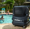 Port-A-Cool Swamp Cooler on Pool Patio