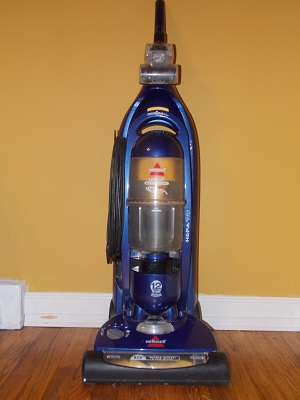 Look how clean and shiny my vacuum is! And it works like new.
