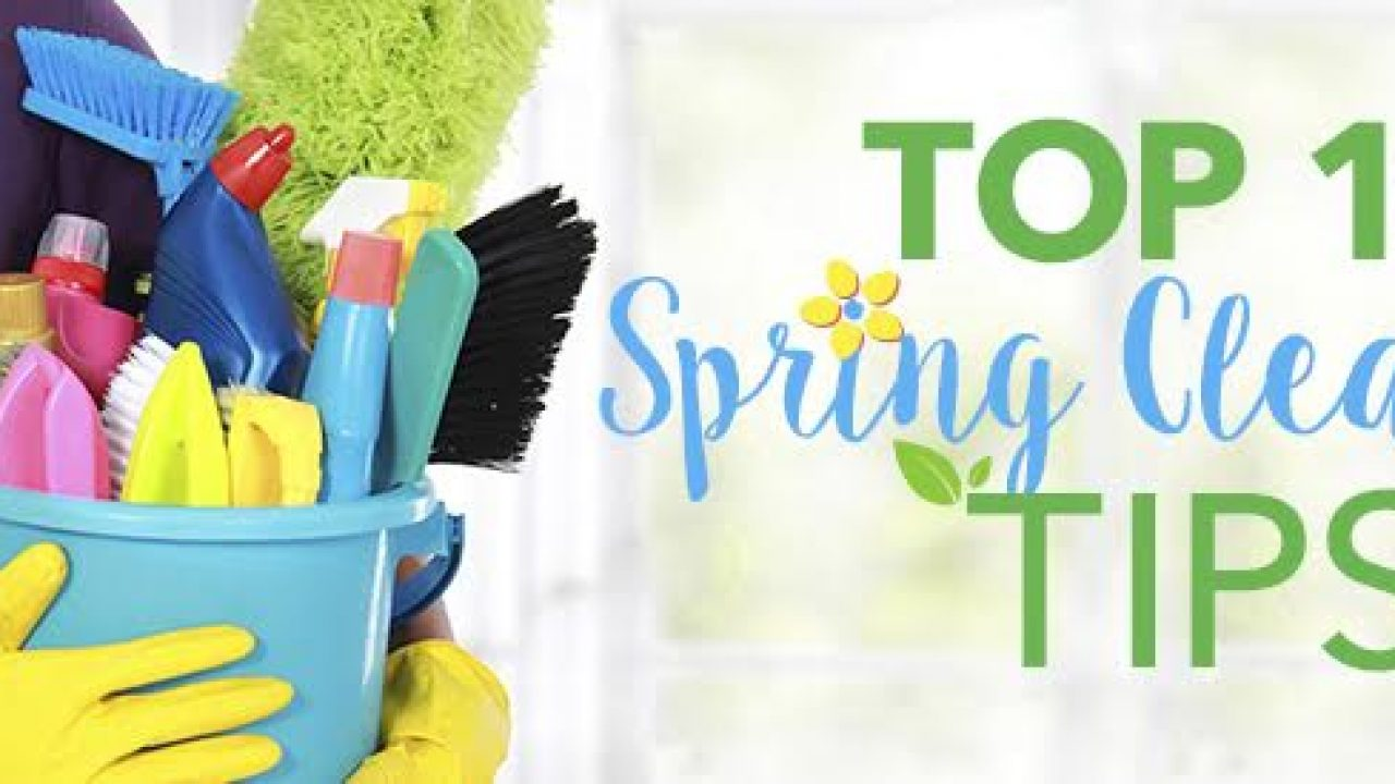 Top 10 Spring Cleaning Tips & Tricks for 2019 | Sylvane