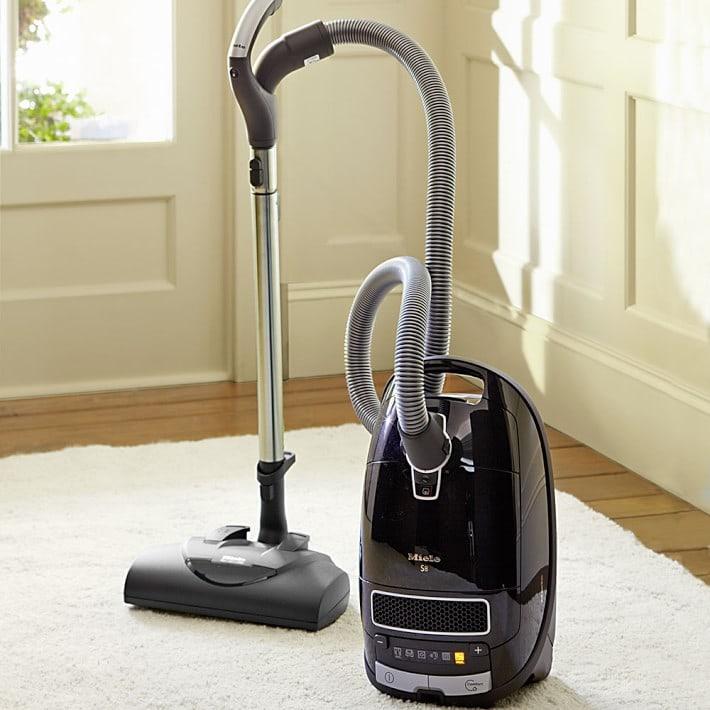 miele vacuum on carpet
