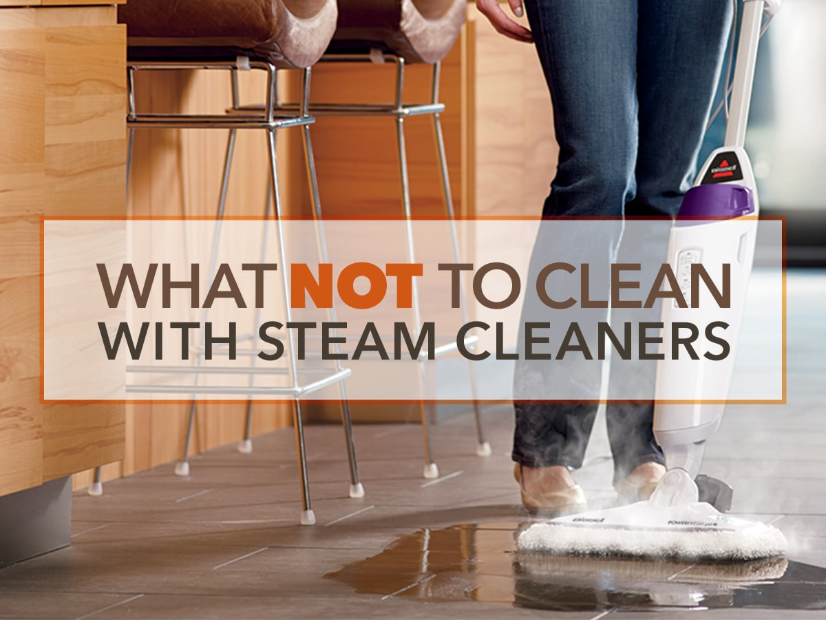 What Not To Clean With Steam Cleaners Sylvane