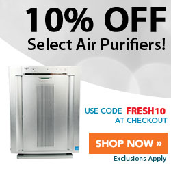 10% Off Select Air Purifiers