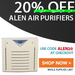 20% Off Alen Air Purifiers