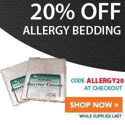 20% Off Allergy Bedding