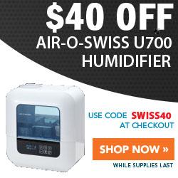 $40 Off Air-O-Swiss U700 Humidifier