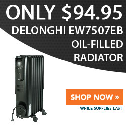 Special Price: DeLonghi EW7507EB Oil-Filled Radiator