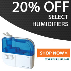 20% Off Select Humidifiers